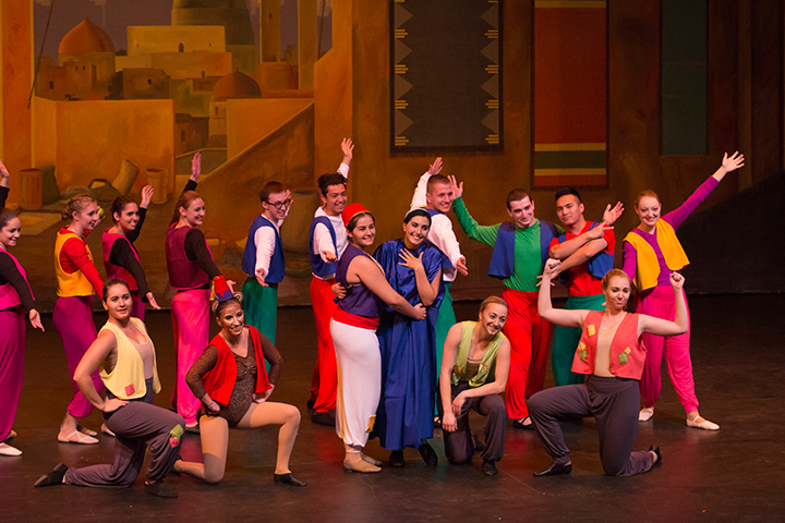 The Ballet and Dance Club performs Aladdin at Leach Theatre